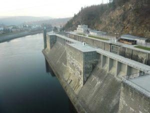 Rekosntrukce - vodní dílo Štěchovice